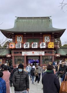笠間稲荷神社参拝