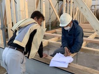 今日の田山建設事務所新築工事