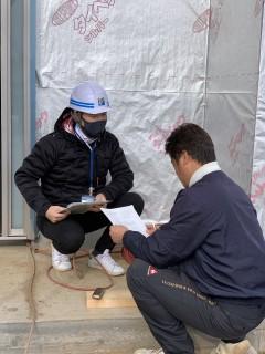 田山建設事務所新築工事・これ絶対暖かいでしょ!