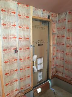 地震に強いテクノストラクチャーの家・新築工事再開