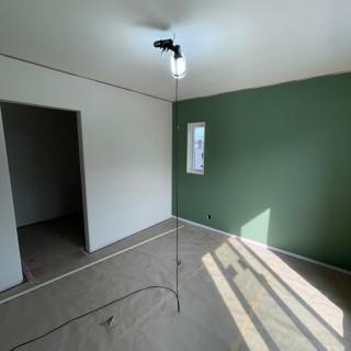 水戸市の地震に強い家がもうすぐ完成します。