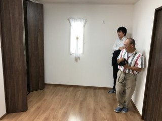 地震に強い家の撮影