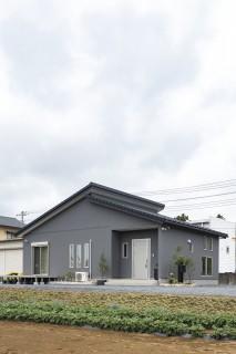 田山建設ショールーム・外観