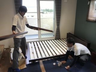 地震に強い家づくり10/28日の様子・完成見学会