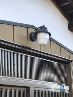 地震に強い家づくり2/26・玄関照明交換