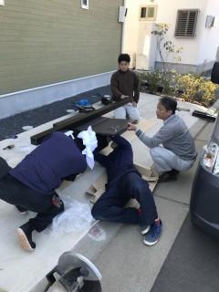 地震に強い家づくり3/20・宅配ボックス設置