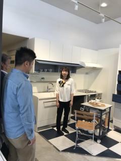 地震に強い家づくり4/22・harumi's kitchen