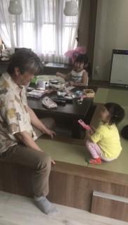 地震に強い家づくり5/3・お迎え