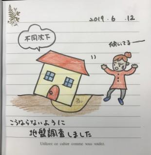 地震に強い家づくり・地盤調査
