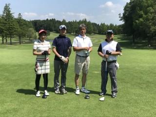 田山建設協力業者会ゴルフコンペ