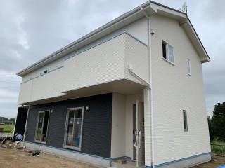地震に強い家・現場の様子(小美玉市T様邸)