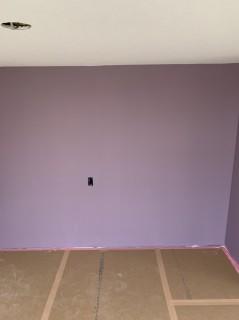 ワクワクするお家の秘密基地の壁