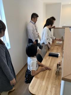 常磐の杜モデルハウス完成見学会2日目