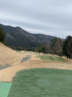 ゴルフに行ったよ