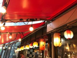 屋台の食べ物・田山の夏まつり