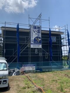 水戸市地震に強い家・新築工事中の様子