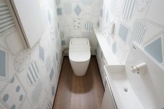 ブログで見学会 トイレ
