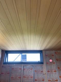行方市のお家・現場レポート和室天井